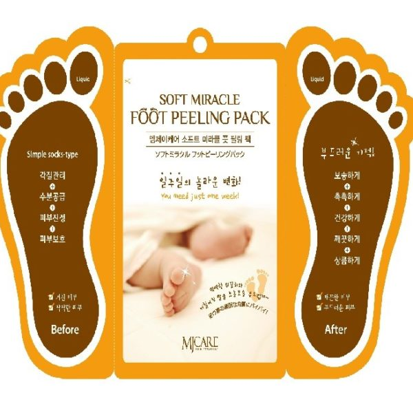 mjcare-soft-miracle-foot-peeling-pack